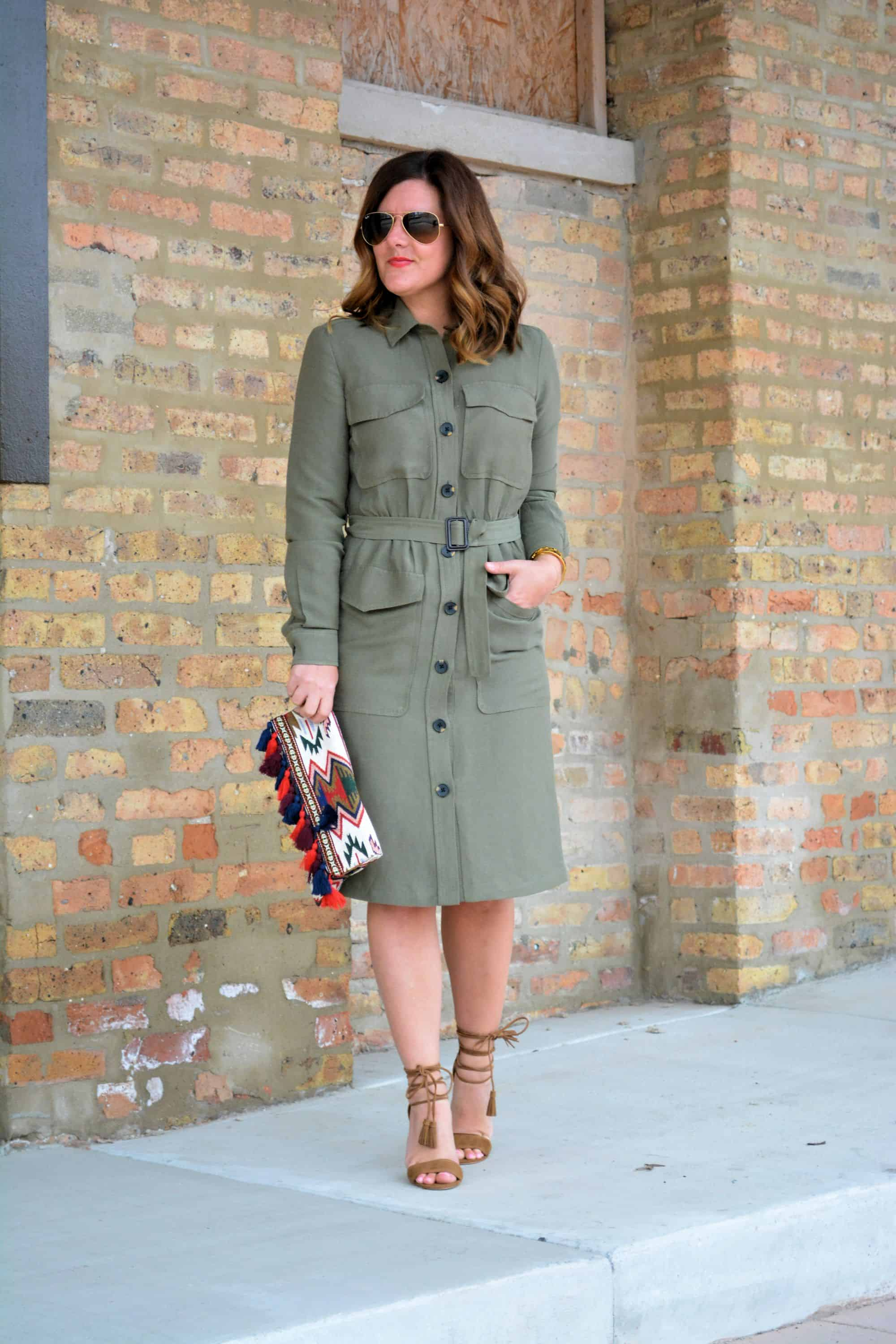 Spring Style The Trench Dress A Lily Love Affair