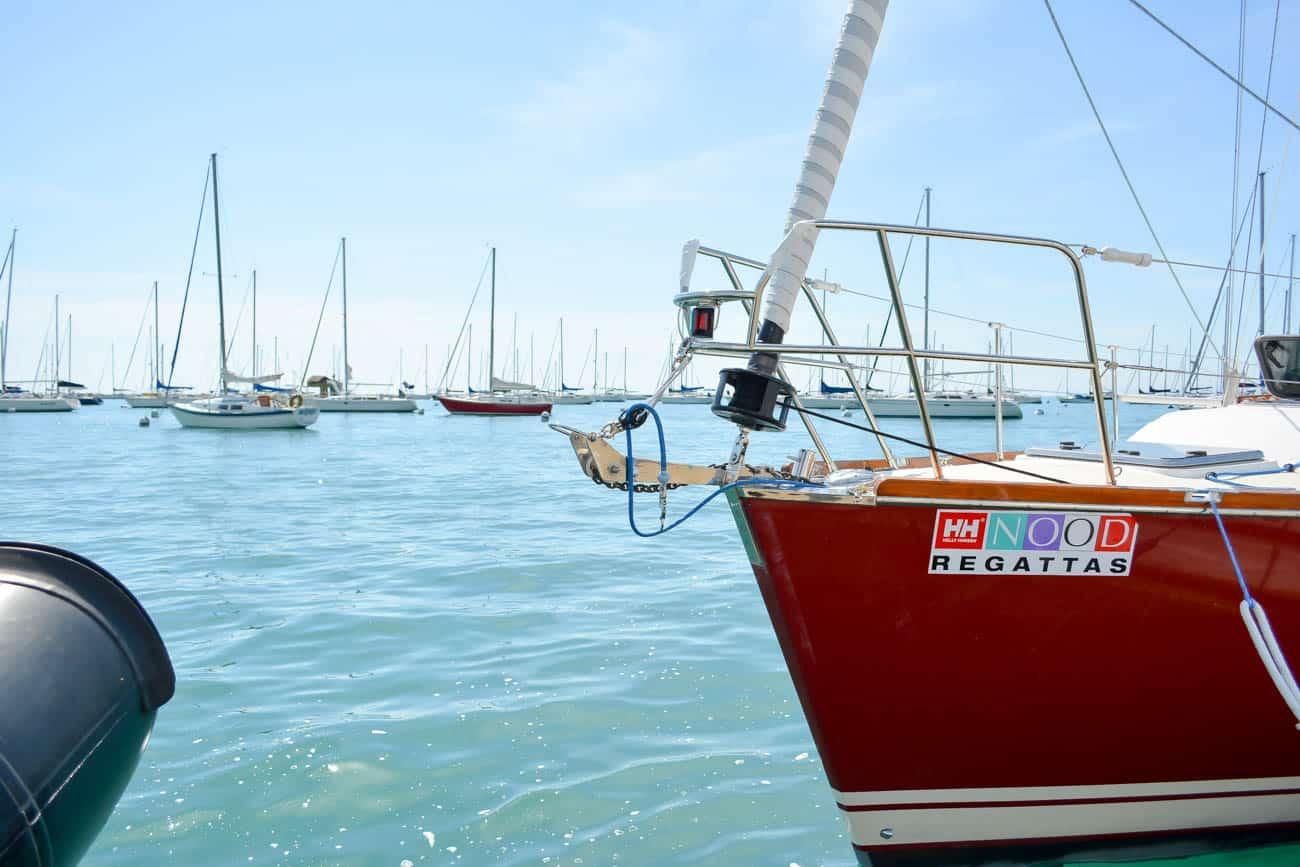 Helly Hansen, Sailing in Chicago, Lake Michigan, Chicago Fashion Blogger, NOOD Regatta Chicago, Chicago Yacht Club
