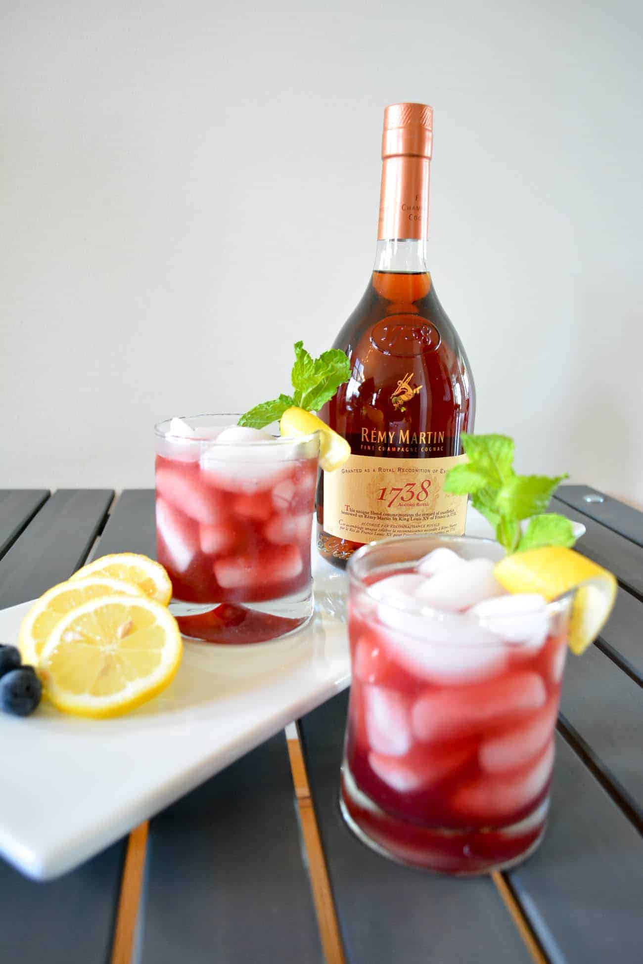 Remy Martin 1738 Cocktail, Remay Martin Cognac, #PassionDefinedRemyRefined