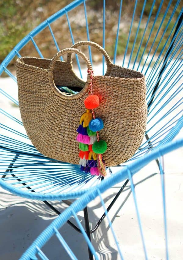 80 Of This Season's Must Have Straw Bags + Giveaway