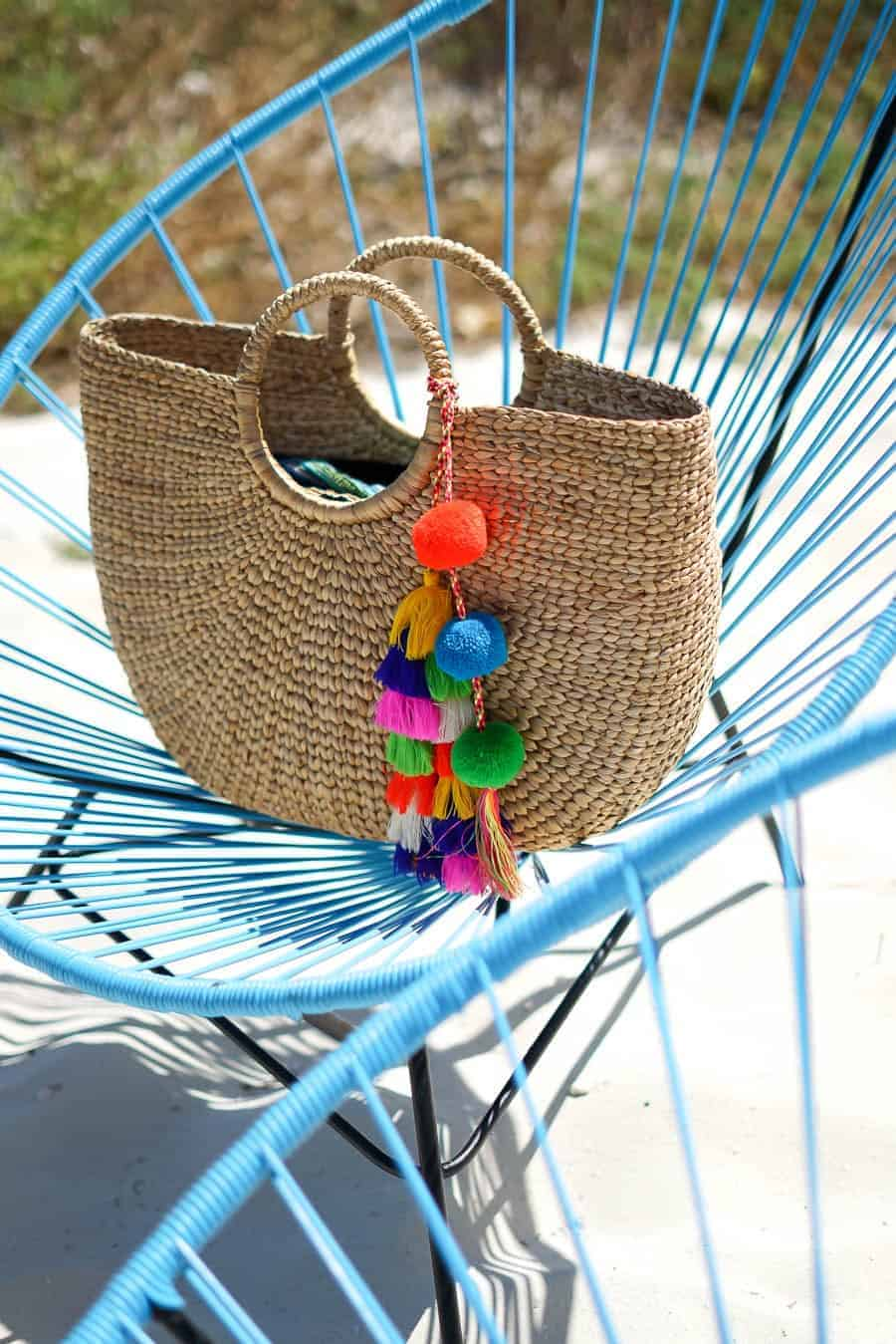 Must have straw bags, vacation style, A Lily Love Affair, Chicago Blogger, Straw Bags