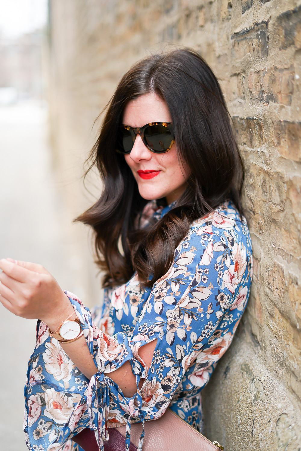 Topshop floral dress, A Lily Love Affair, Chicago Blogger, Spring Style