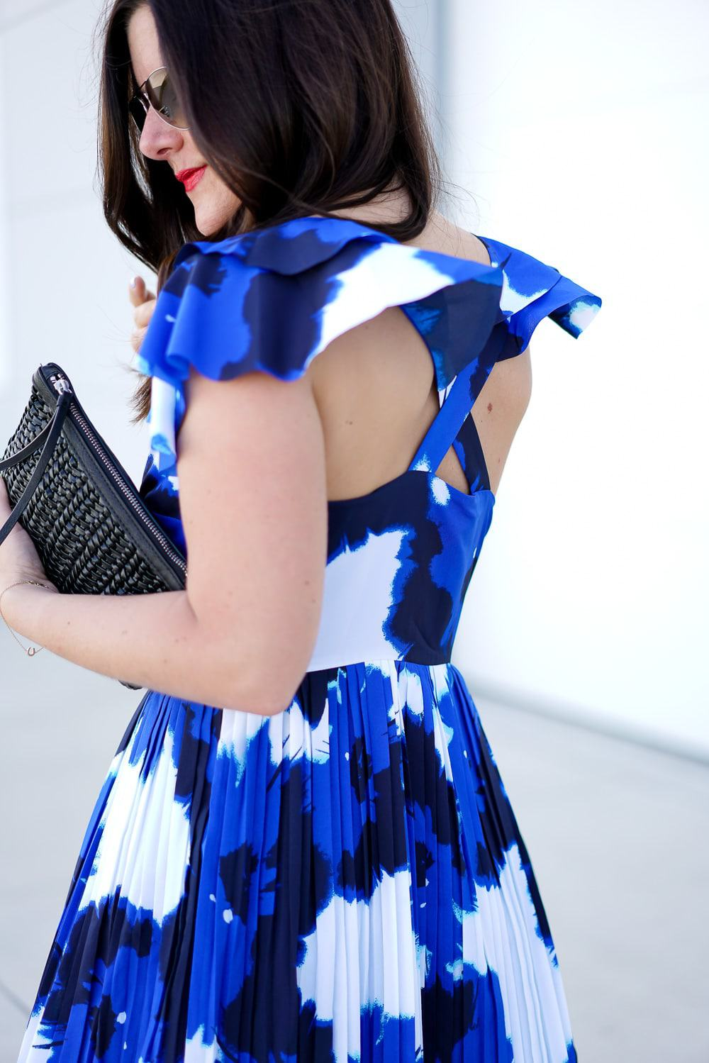 floral ruffle sleeve dress, A Lily Love Affair, Chicago Blogger, Banana Republic #itsbanana, Spring Style