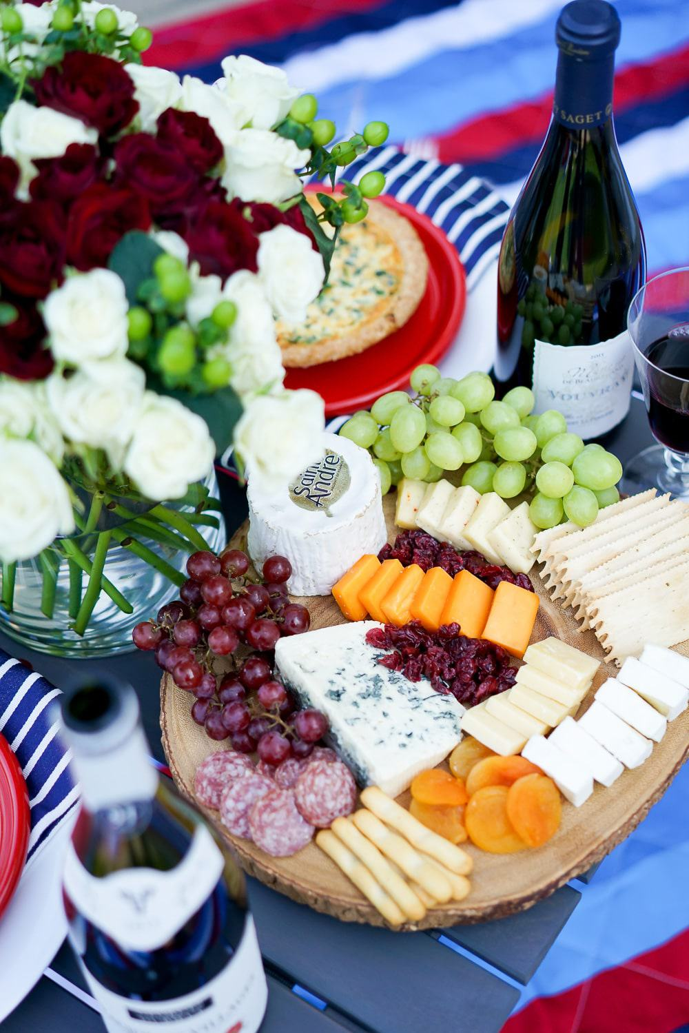 A Lily Love Affair, Chicago Blogger, Bastille Day Celebration, Bastille Day Party Ideas, French Wines