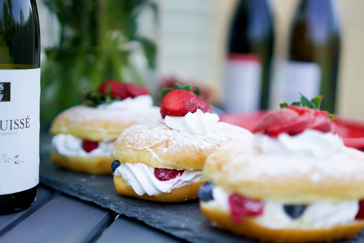 A Lily Love Affair, Chicago Blogger, Bastille Day Celebration, Bastille Day Party Ideas, French Wines, cream puffs recipe