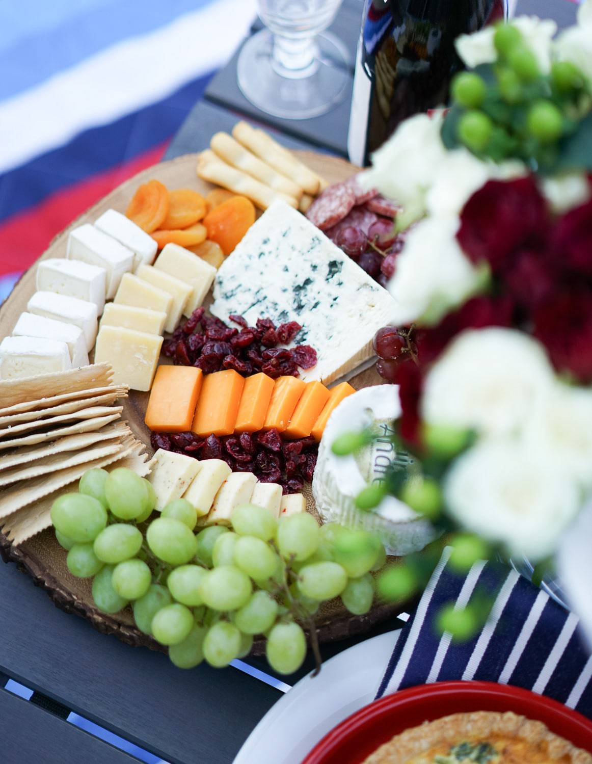 A Lily Love Affair, Chicago Blogger, Bastille Day Celebration, Bastille Day Party Ideas, French Wines, How to create a cheese board