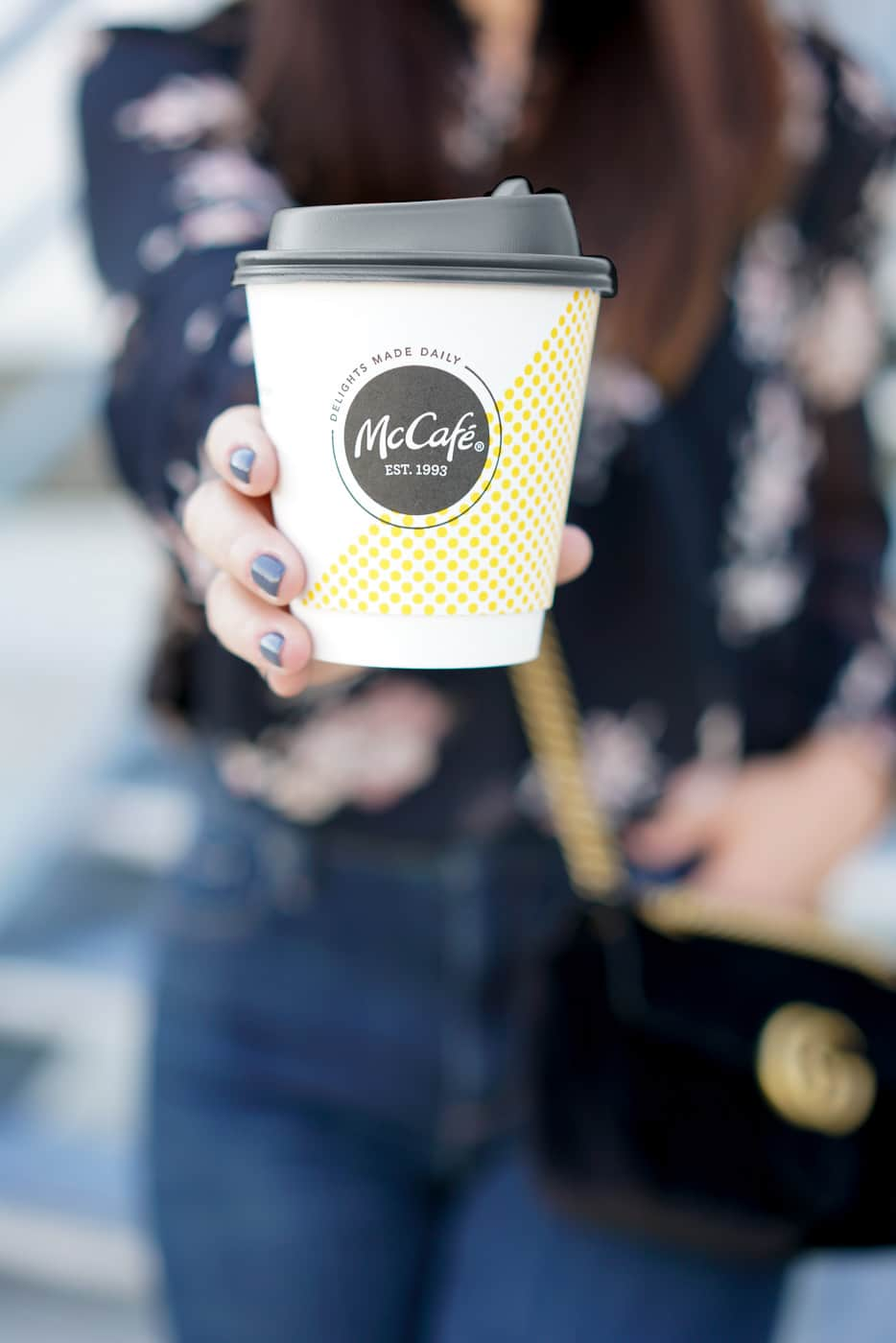 McDonald's McCafe, A Lily Love Affair, Morning Routine, Chicago Blogger, McDonald's coffee