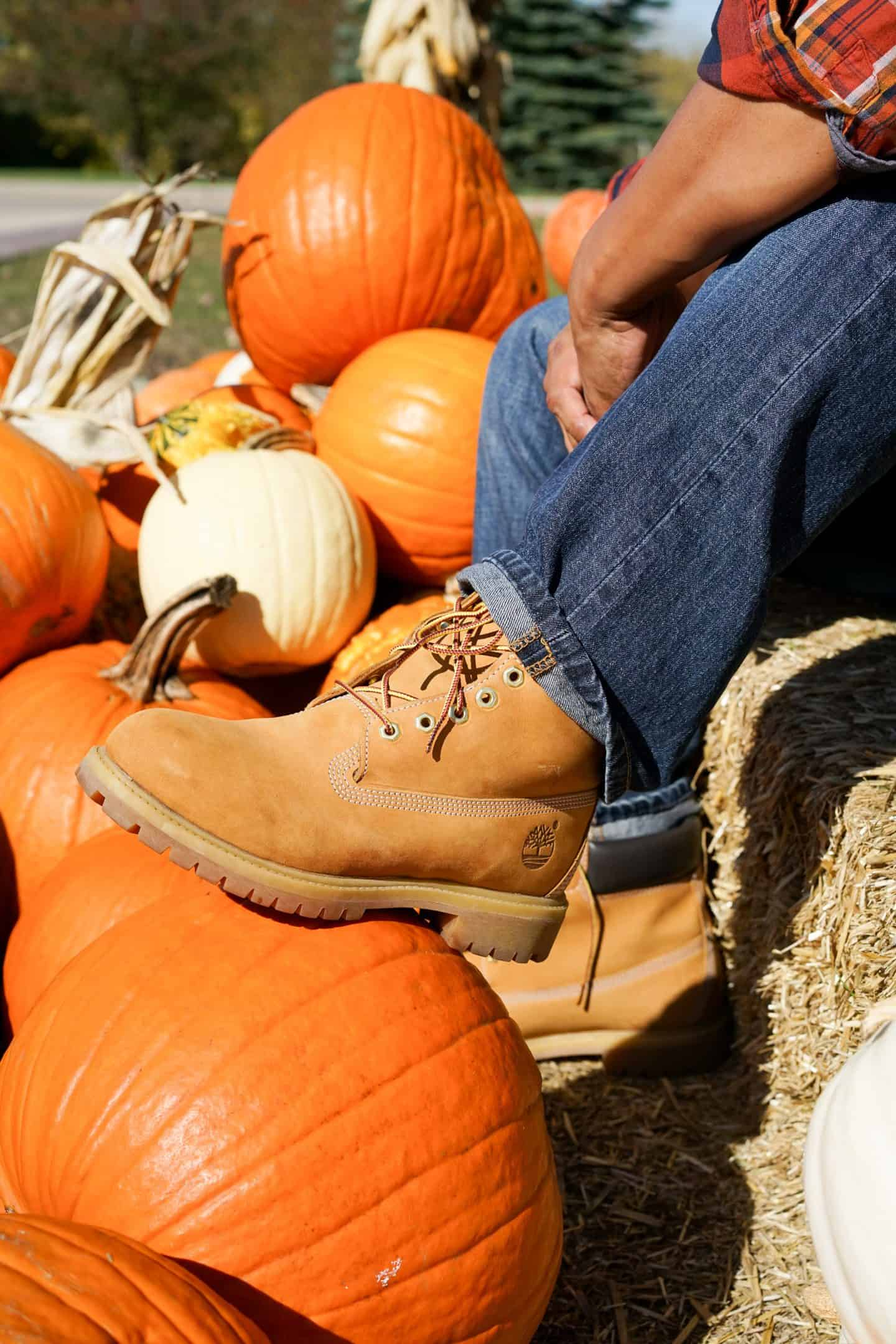 Timberland Boots, Pumpkin Patch, A Lily Love Affair, Chicago Blogger