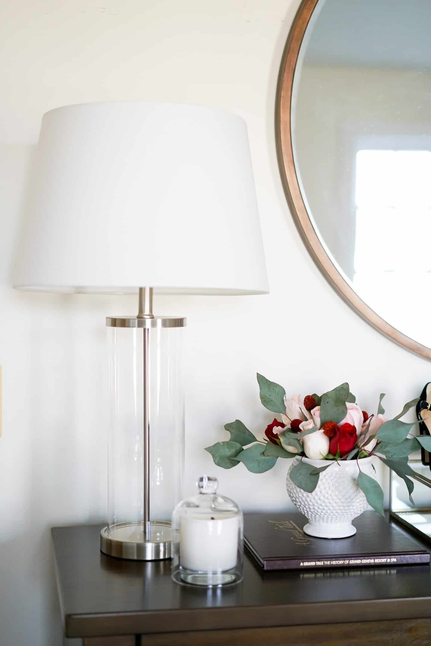 Small Bedroom Update With Lamps Plus | A Lily Love Affair
