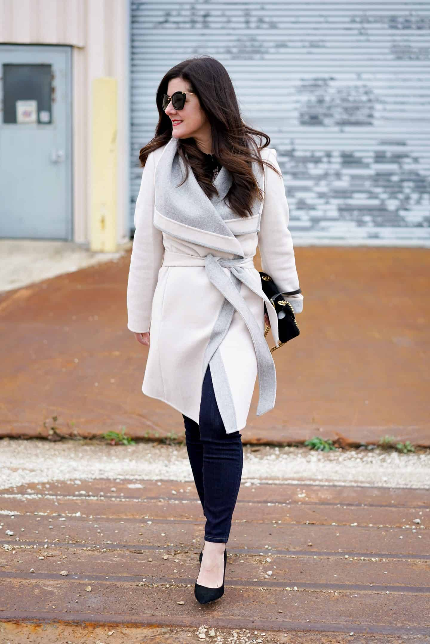 Wrap Coat, A Lily Love Affair, Chicago Blogger, Fall Style, Winter Style