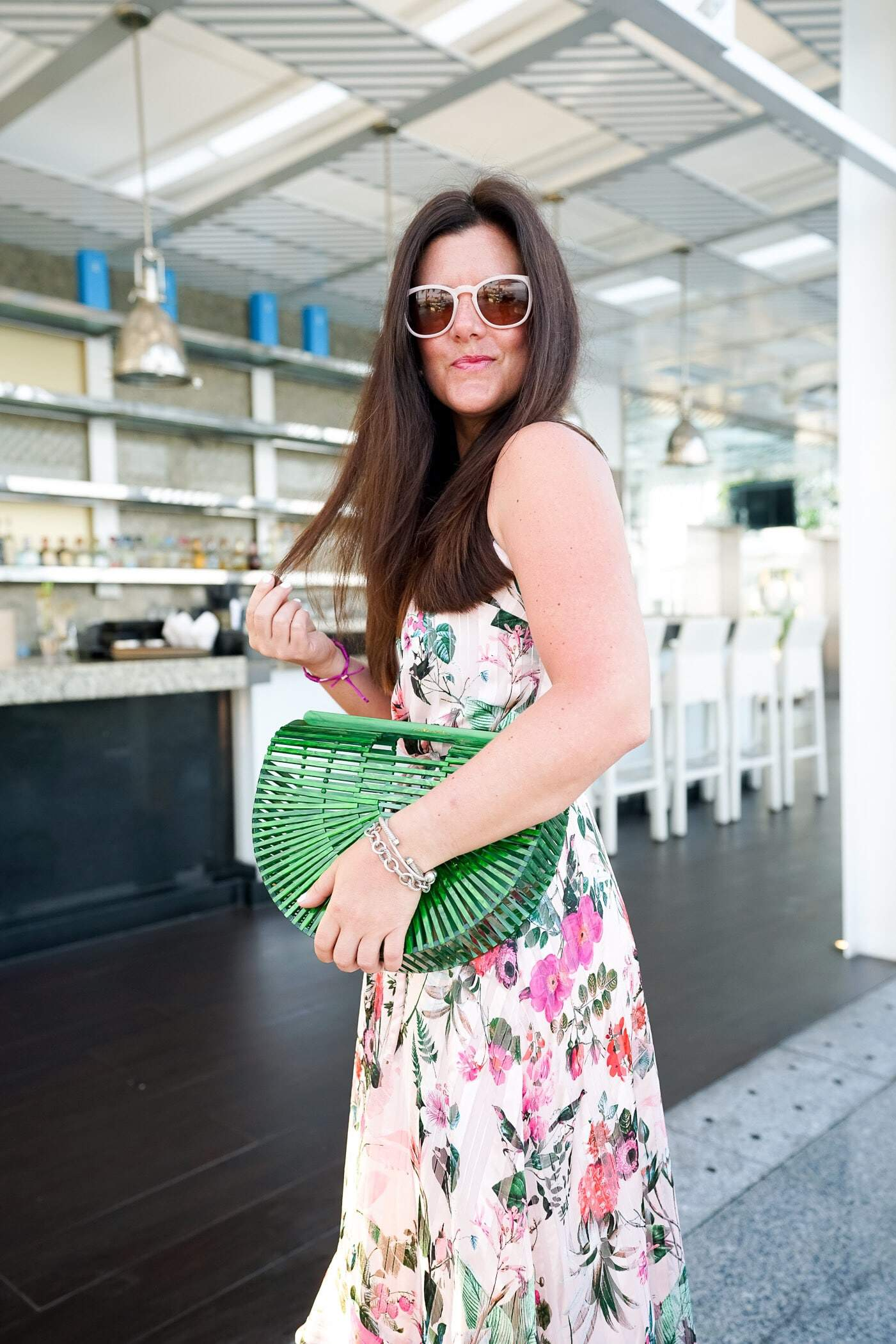 Spring Trends, A Lily Love Affair, Chicago Blogger, Floral Prints, Floral Maxi Dress, Green Cult Gaia