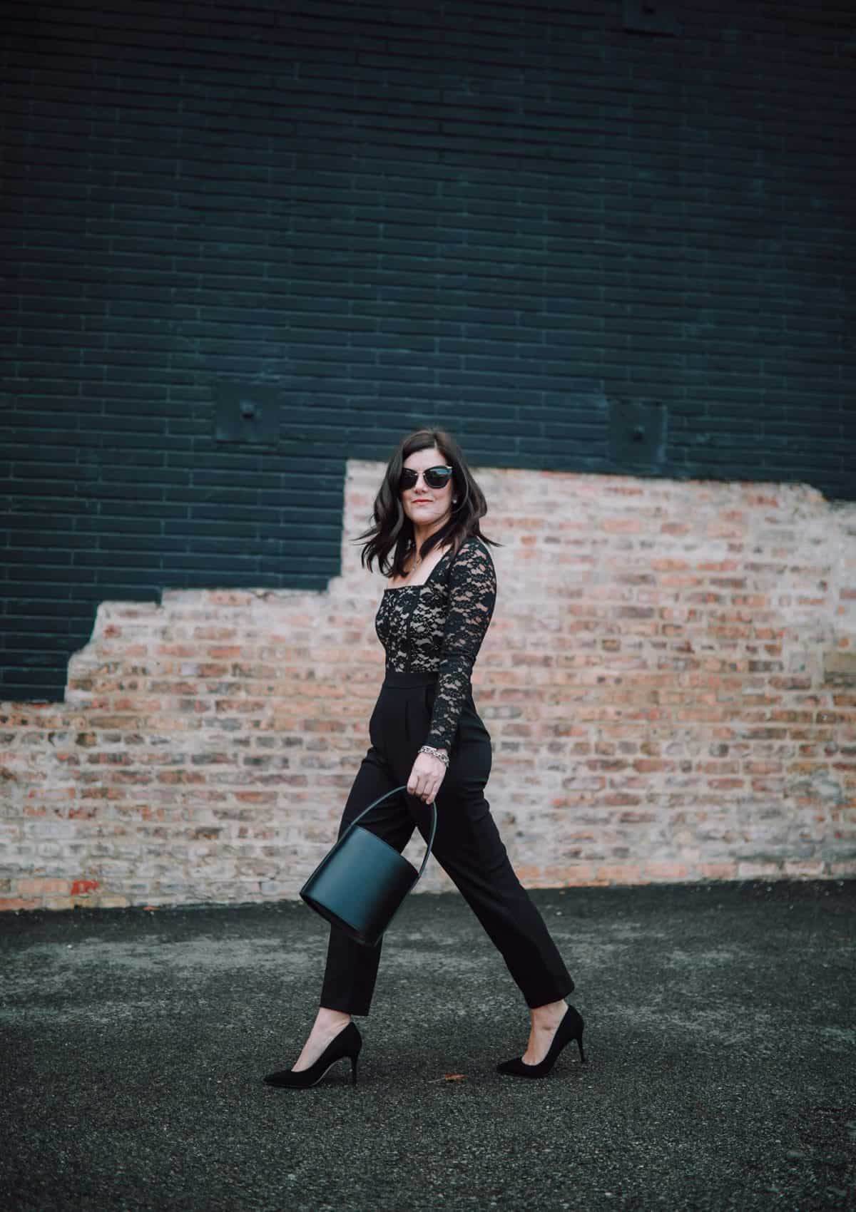 A Case For The Lace Jumpsuit This Holiday Season + Giveaway!