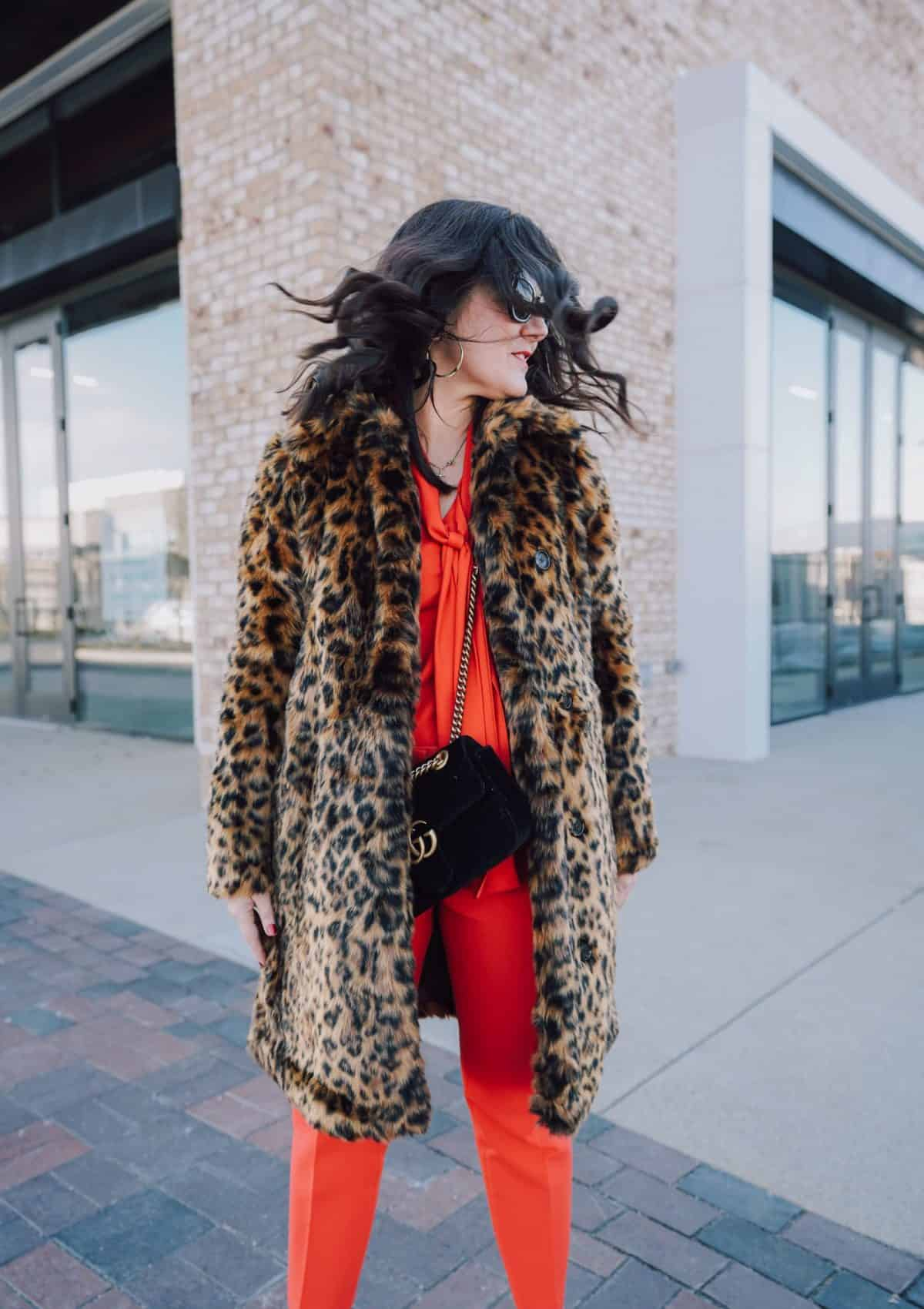 Because Everyone Needs A Leopard Print Coat