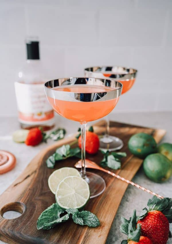 CBD Infused Cocktail: Love In A Cup Martini