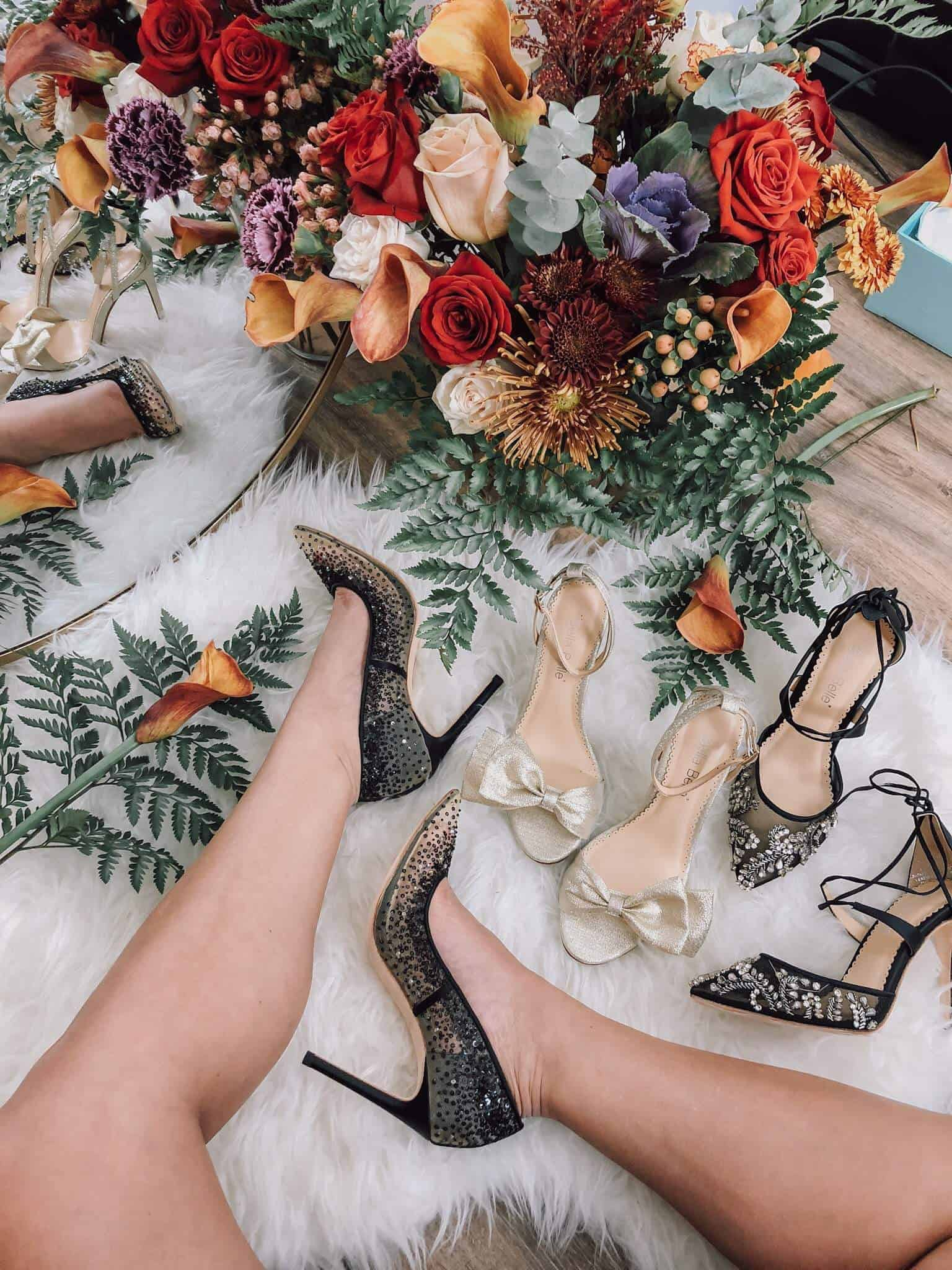 Bella Belle shoes review, best bridal shoes, best wedding guest heels, A Lily Love Affair, Chicago Blogger