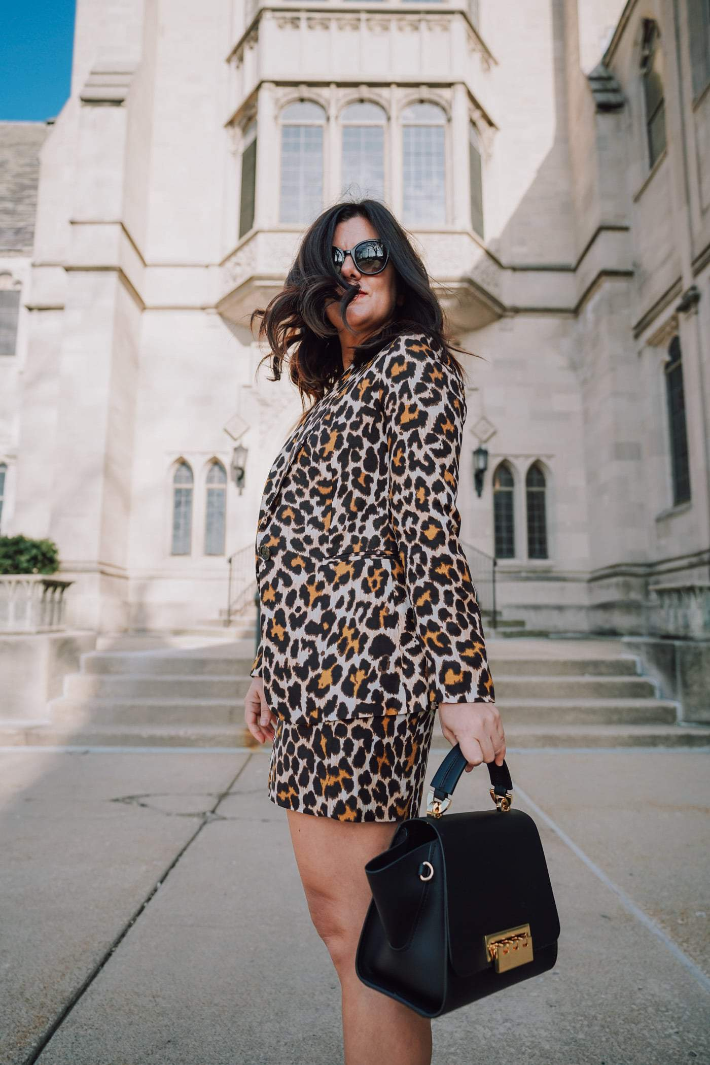 Do you love a good short suit sets? Us too! Sharing 20 great sets inside today's post! #jcrew #womenssuits #leopard #leopardsuit A Lily Love Affair