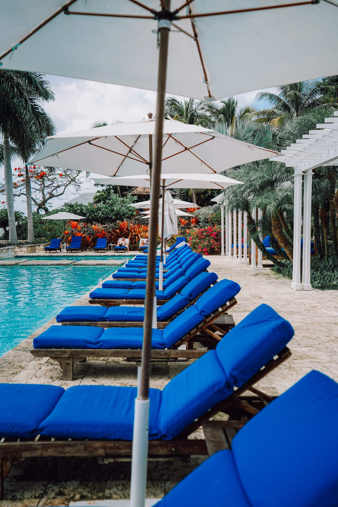 A Lily Love Affair shares a review of the Round Hill Resort Jamaica, best resort pools