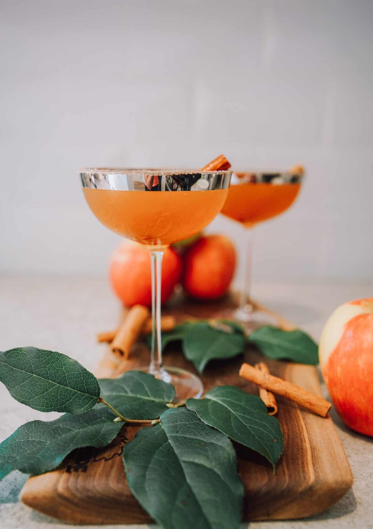 Apple Caramel Martini