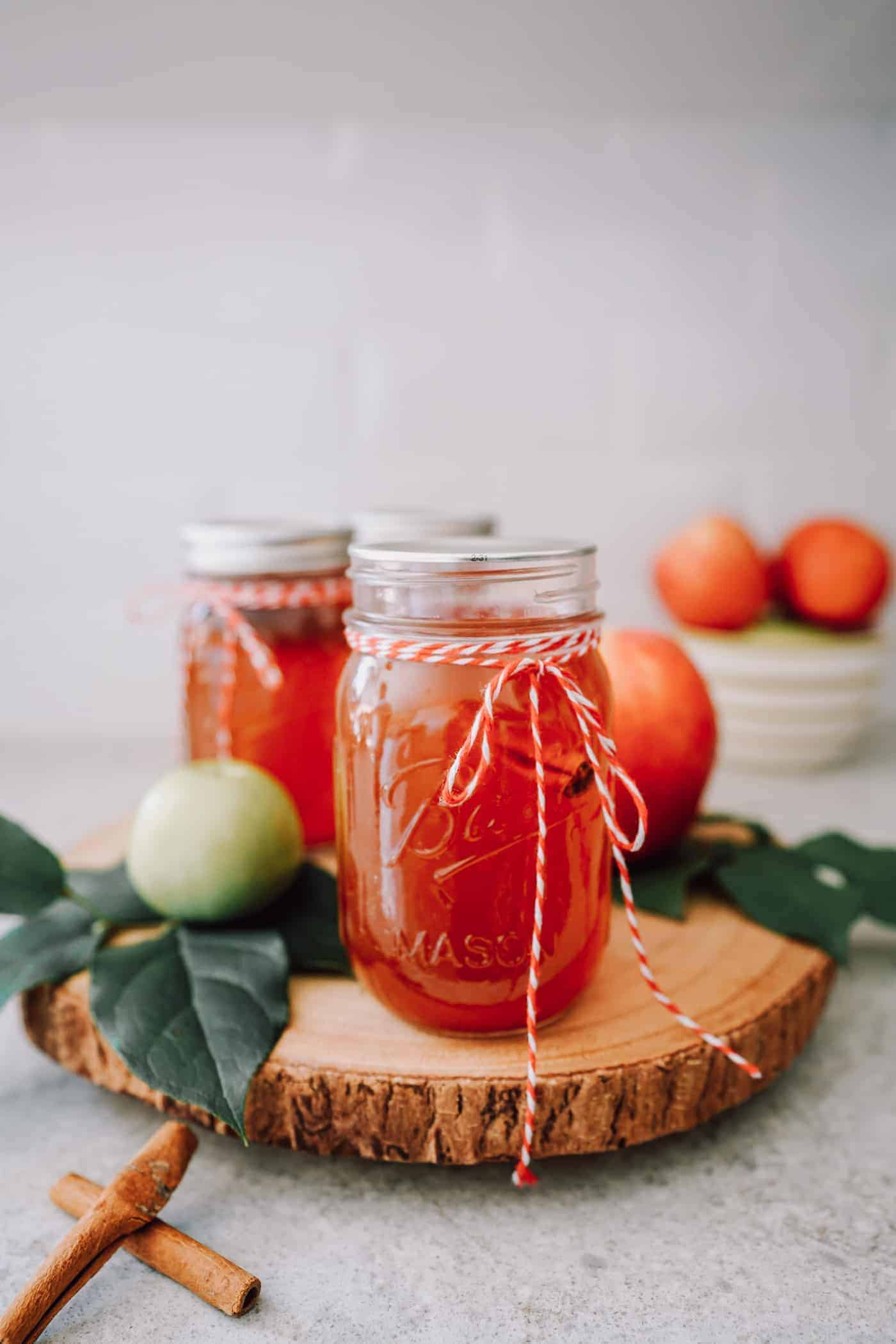Get ready because this Instant Pot Apple Pie Moonshine is going to be your new favorite cocktail! See all the ways we're serving up this treat this season!