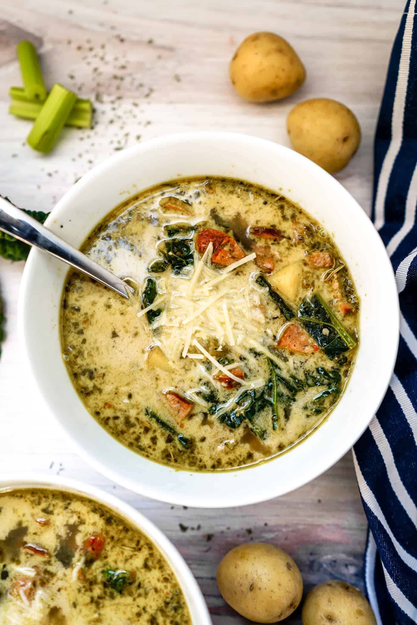 Instant Pot Olive Garden Zuppa Toscana Soup A Lily Love Affair