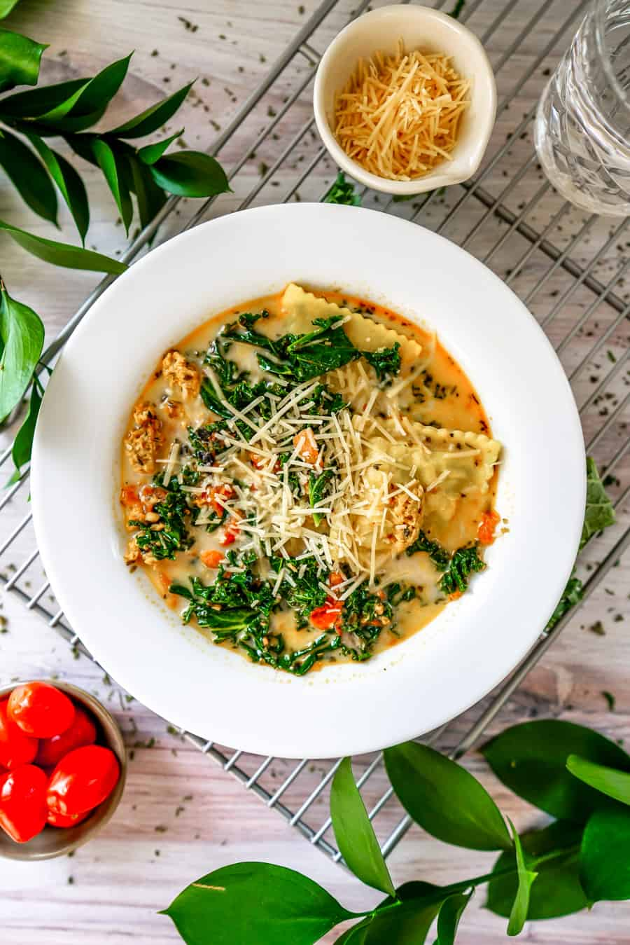 This Instant Pot Creamy Ravioli Soup receives universal raves - and for good reason - it's hearty, flavorful, versatile and incredibly easy to whip up! This Instant Pot Creamy Ravioli Soup can be made to be vegan and keto friendly, too!Try it today and let us know what you think!