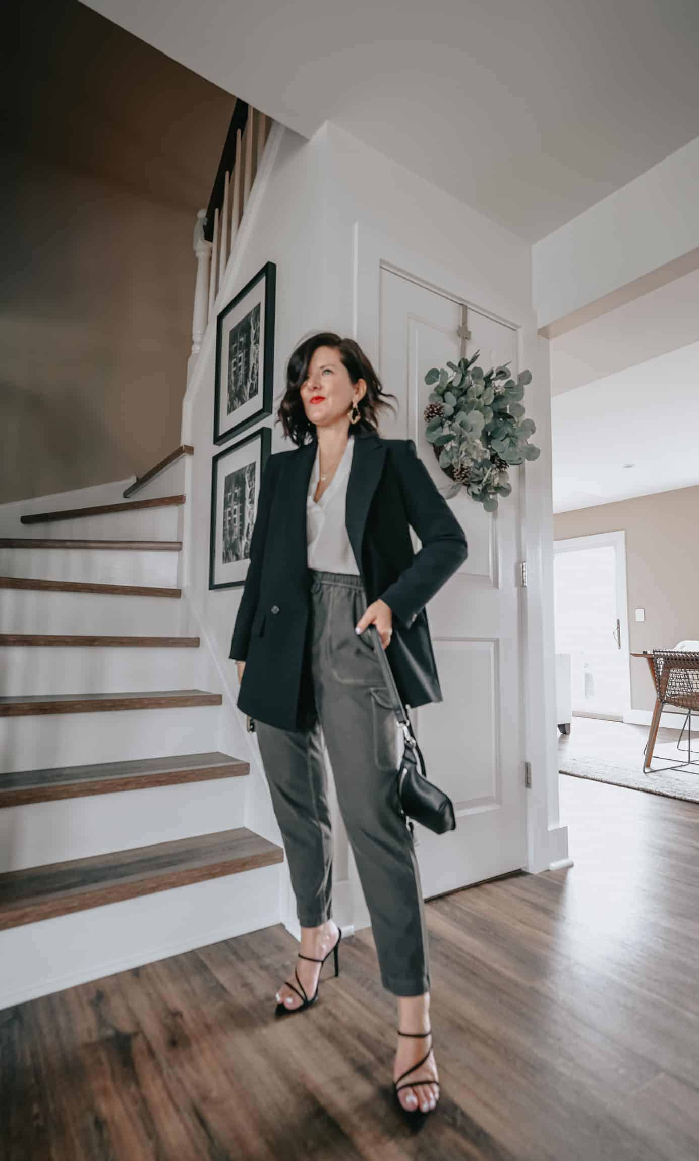 OLIVE CARGO PANTS OUTFITS FOR WOMEN - How cute are these olive cargo pants? I hope you love them as much as we do! Today, we're sharing 6 really cargo pant outfit ideas. These are the perfect spring and summer outfits. All 6 looks are perfect for now and later! #cargopants #olivecargopants #summeroutfits #casualoutfits