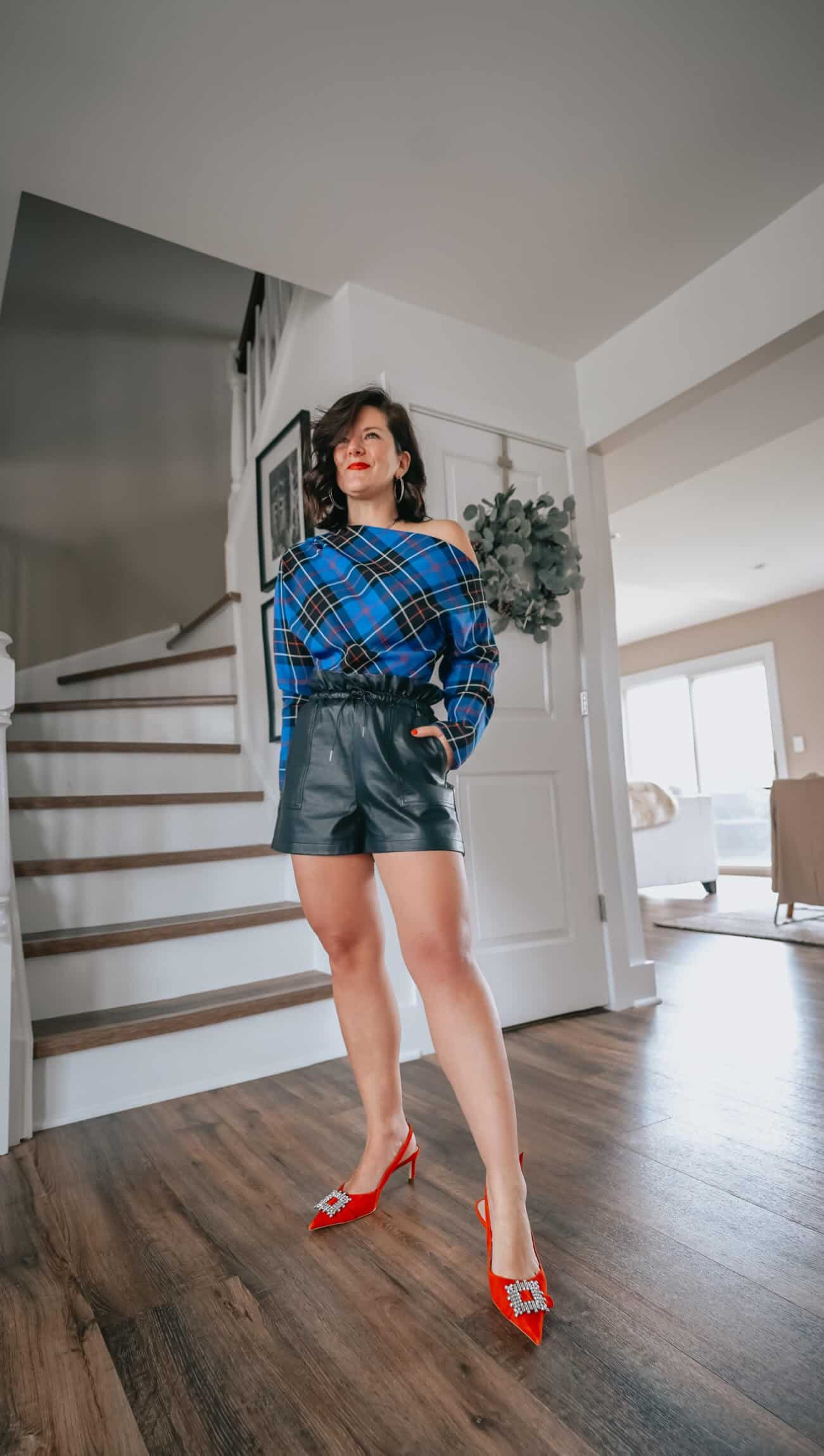 Looking for ways to style your high waisted leather shorts this season?  Great news!  We have you covered today sharing 6 different ways you can wear this trendy piece this Spring and Summer.  We hope you love these looks as much as we do!