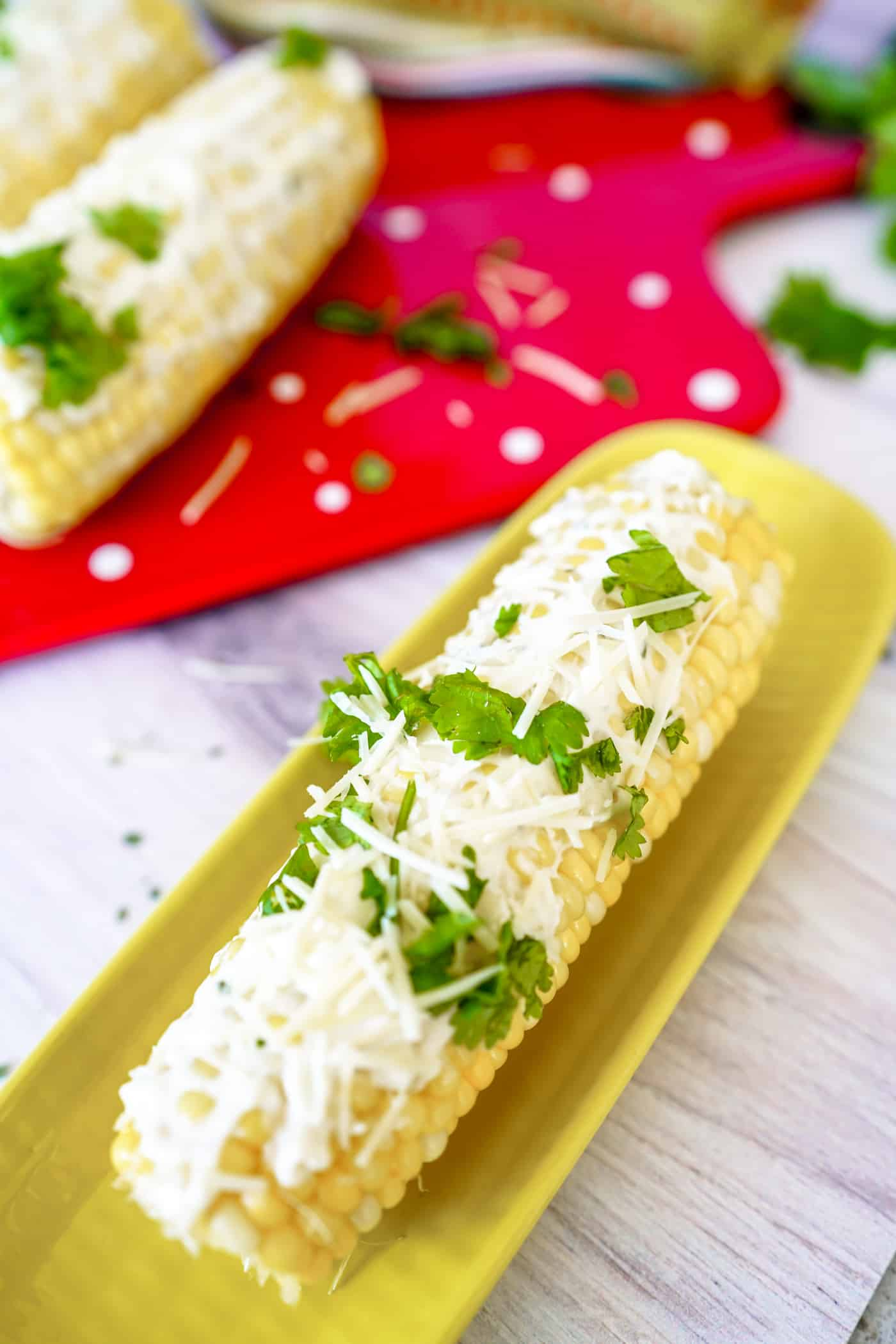 Summer is here and we are ready for Instant Pot Corn on the Cob!  In just 2 minutes, have this delicious side ready to serve with your favorite Summer meals!  Instant Pot Corn on the Cob is a quick and easy dinner recipe you need!