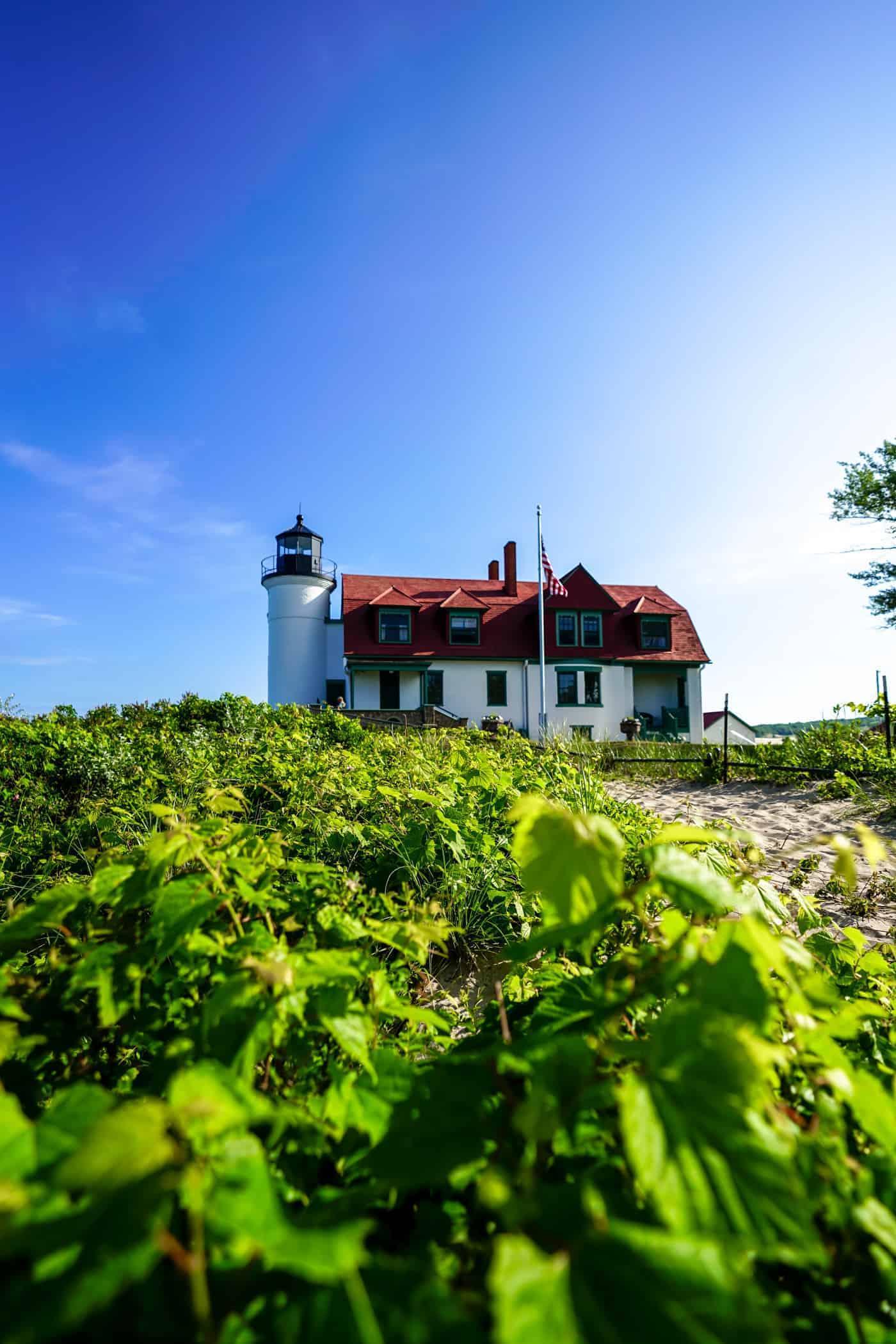 Point Betsie Lighthouse in Frankfort Michigan