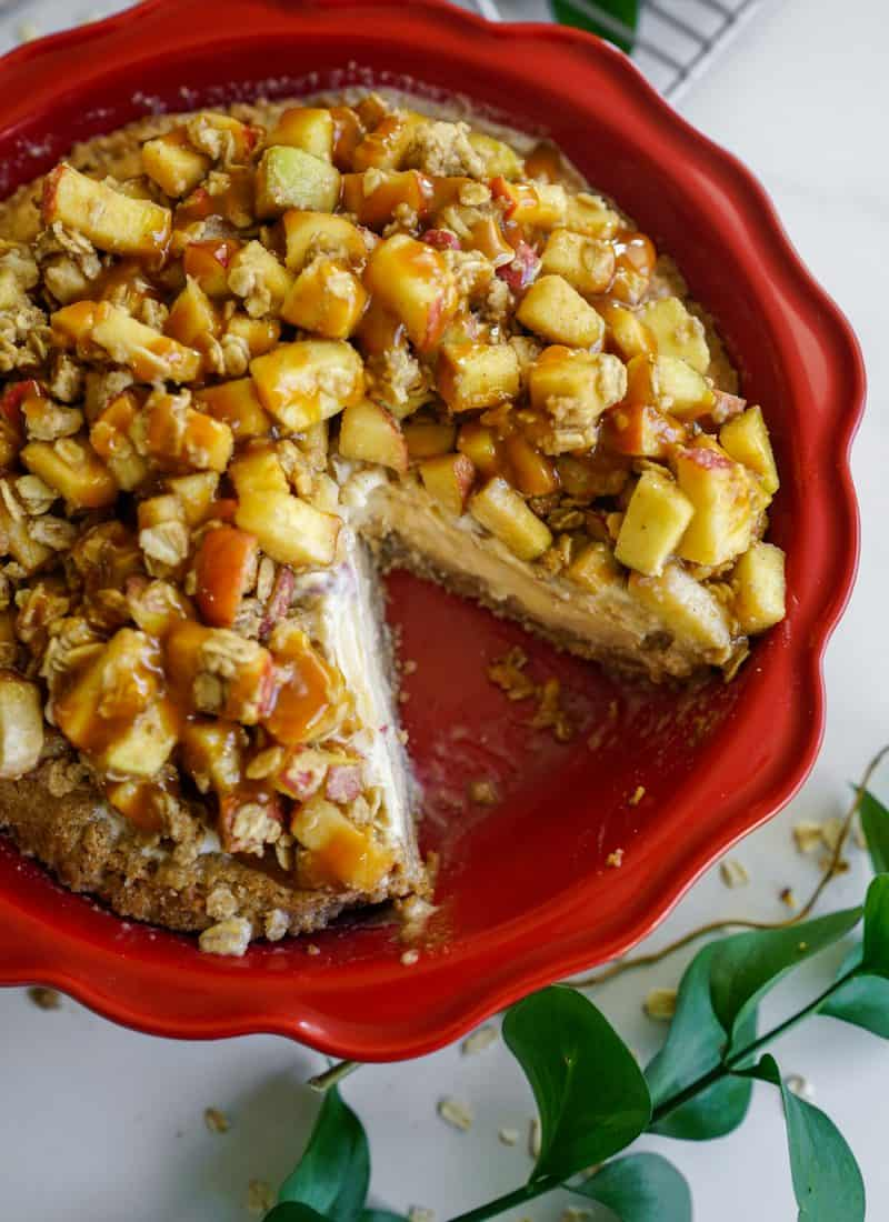 Apple Crisp Ice Cream Pie