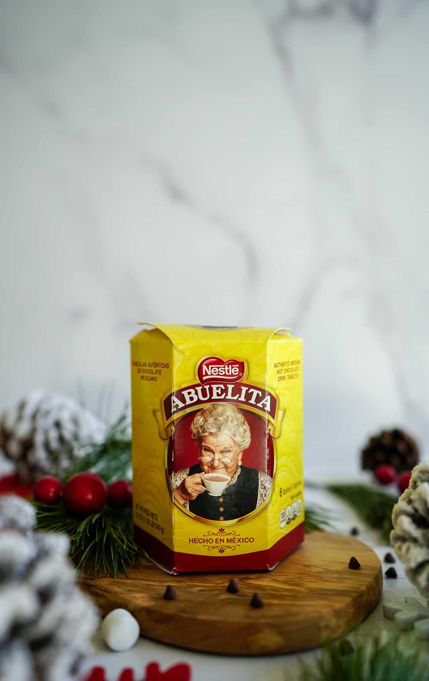 A package of Abutlita chocolate