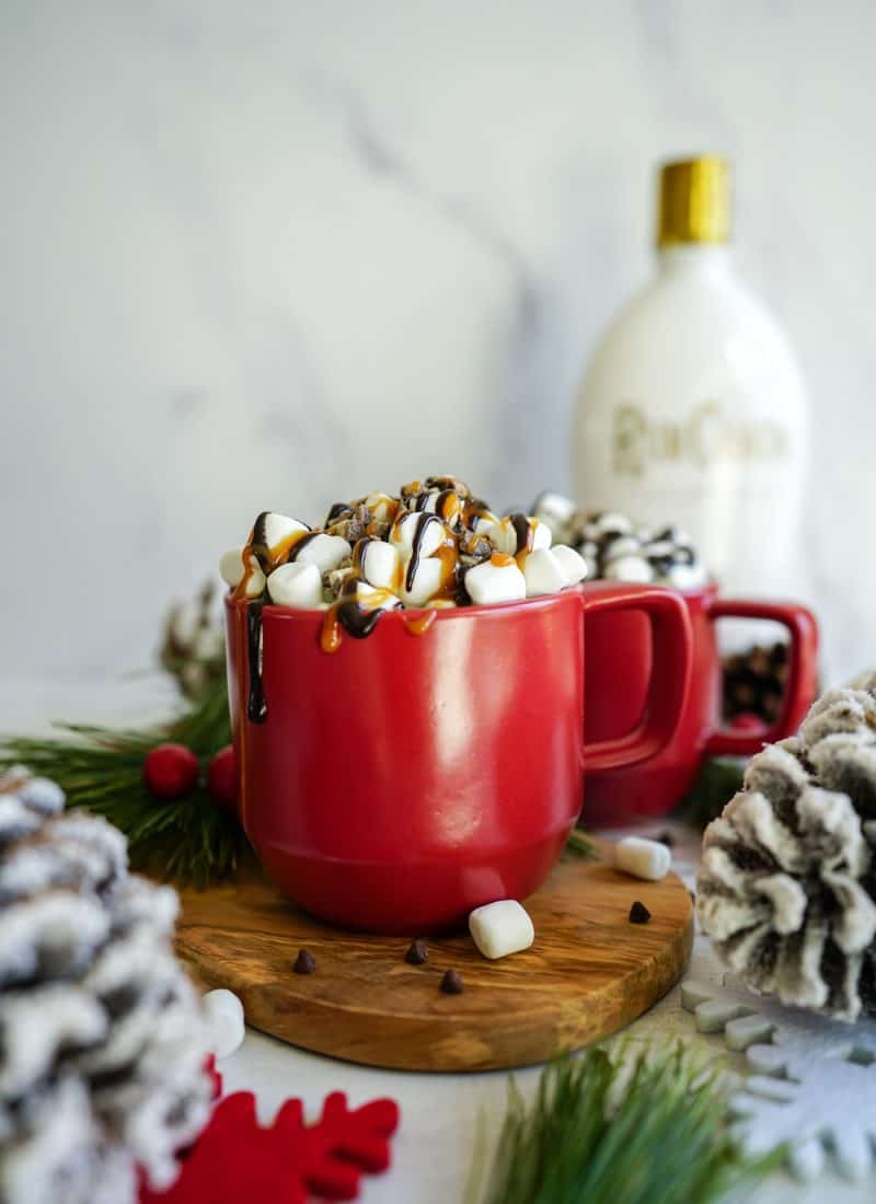 Rumchata Hot Chocolate | 4 Ingredients