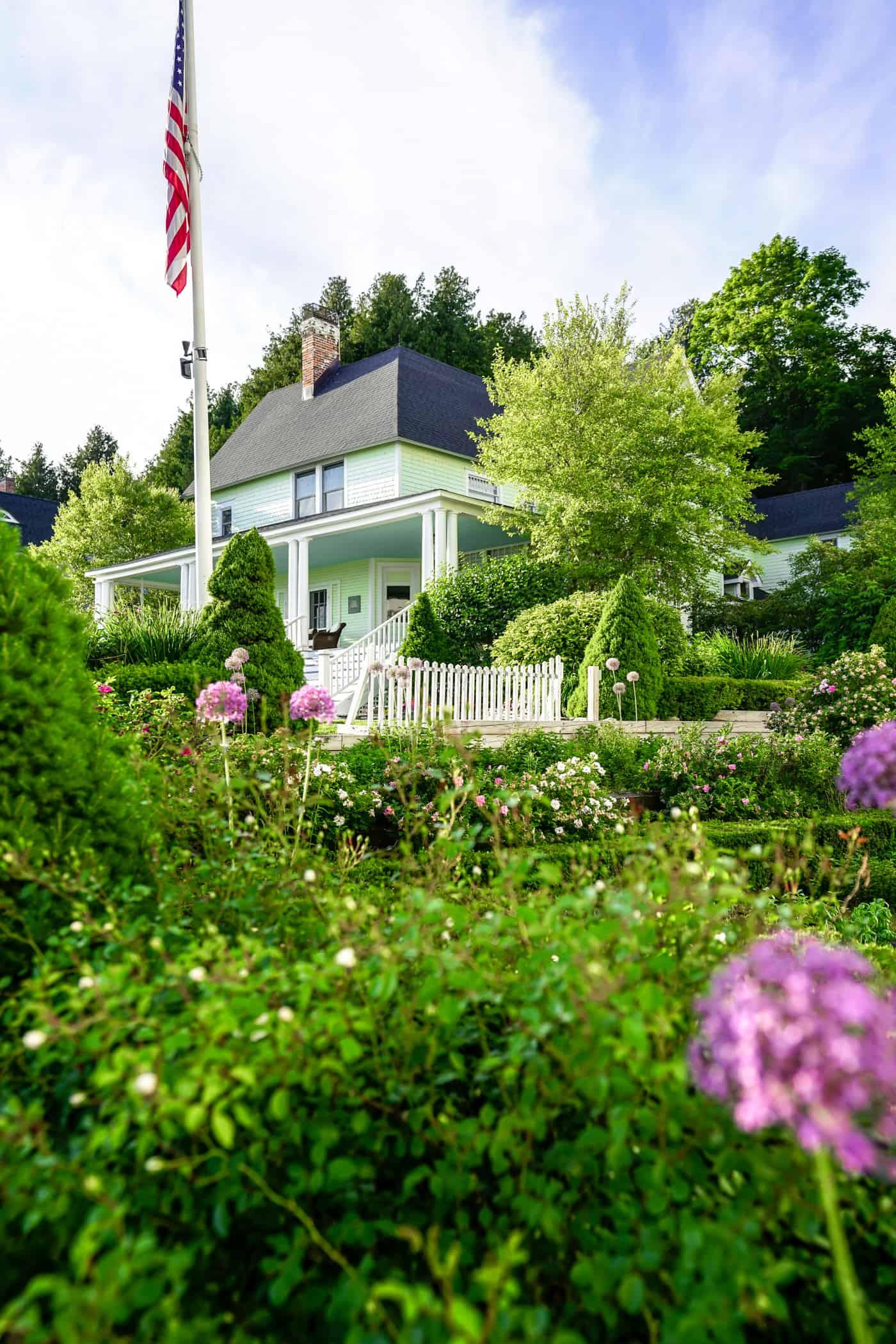 Beautiful Victorian style home on Mackinac Island