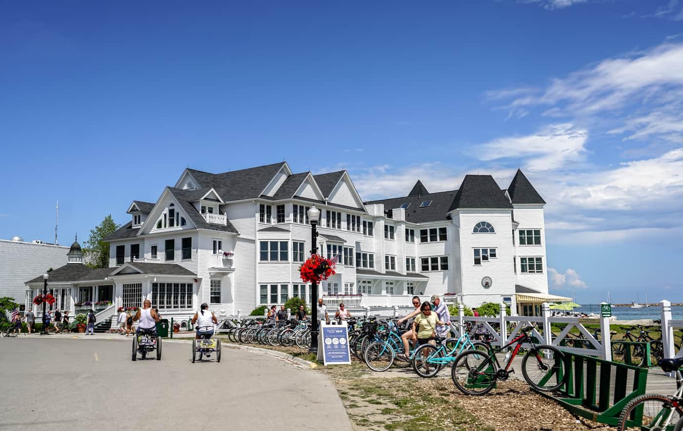 Hotel Iroquois on Mackinc Island Michigan